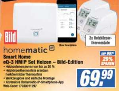 [Lokal] Homematic IP Set Heizen Bild-Edition @ expert Langenhagen/Laatzen