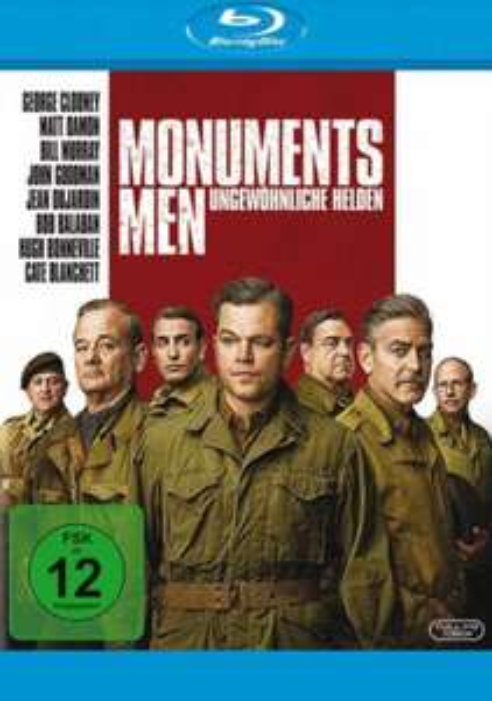 [dodax.de/dodax-ebay] Monuments Men mit M. Damon, G. Clooney & B. Murray  [Blu-ray]