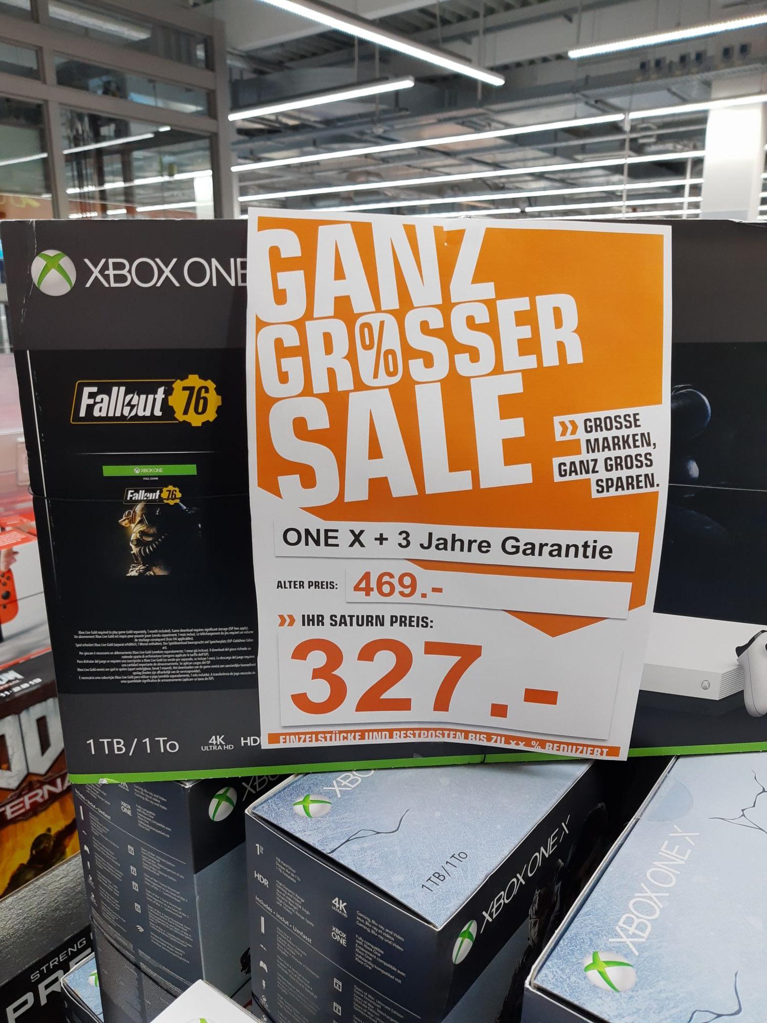 Xbox One-X Fallout 76 Bundle,lokal Saturn Dänischburg