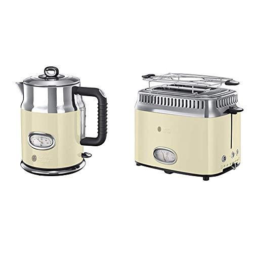(Amazon PRIME) Russell Hobbs Retro Vintage Cream Wasserkocher + Toaster