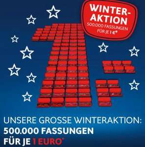Apollo Winteraktion 500.000 Brillenfassungen je 1,00€