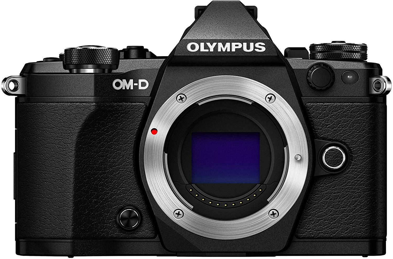 Olympus OM-D E-M5 Mark II Systemkamera MFT Gehäuse schwarz