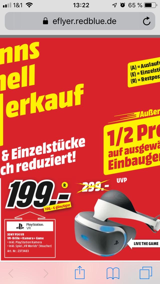 [Lokal Aachen - Mediamarkt] PS4 VR V2