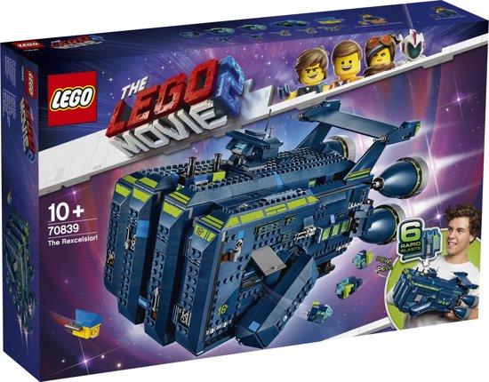 Die Rexcelsior (70839) aus The Lego Movie 2  zum Bestpreis auf bol.com