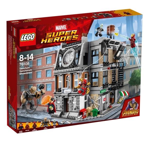 LEGO Marvel Super Heroes - 76108 Sanctum Sanctorum: Der Showdown