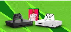 Xbox One X + Gears 5 + Gears of War Ultimate Edition + FIFA20 + Anthem