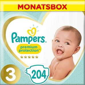 Pampers Premium Protection Windeln Gr. 3 [Amazon] im Sparabo