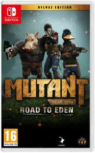 Mutant Year Zero Road to Eden - Deluxe Edition (Nintendo Switch, PEGI)