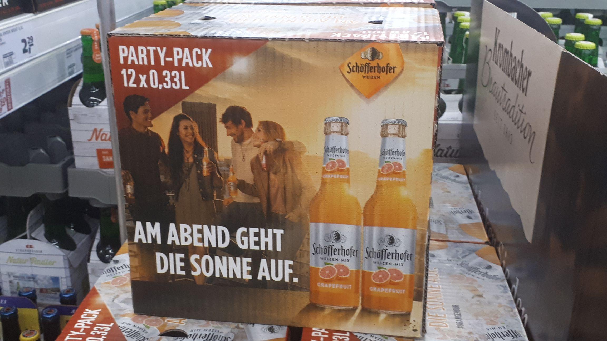 [ Lokal Berlin Spandau ] 12 x 0,33l Schöfferhofer Grapefruit zum halben Preis