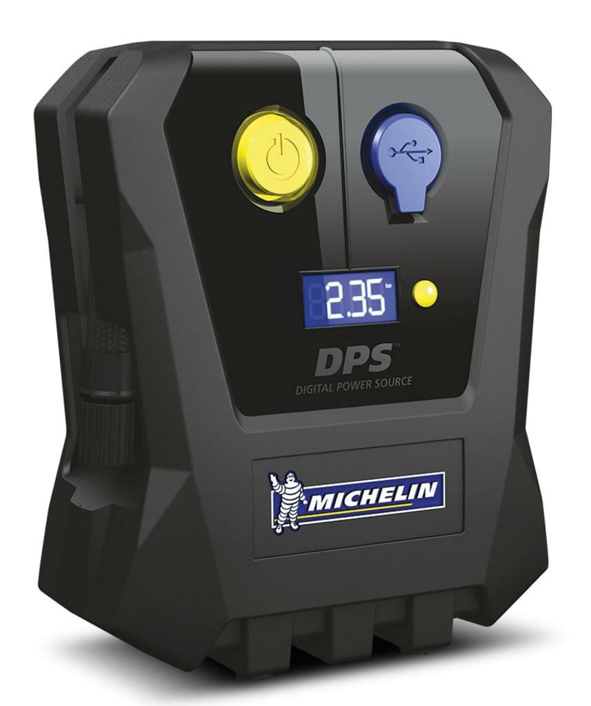 Michelin 9518 mobiler Mini-Kompressor, 7 l/min, 3,5 bar, mit 12V-Anschluss für Zigarettenanzünder