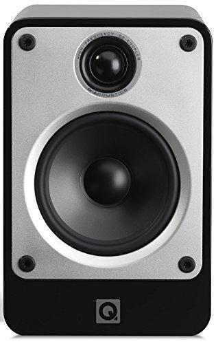 Q Acoustics Concept 20 2-Wege Bassreflex Lautsprecher, Hochglanz Schwarz, Paarpreis