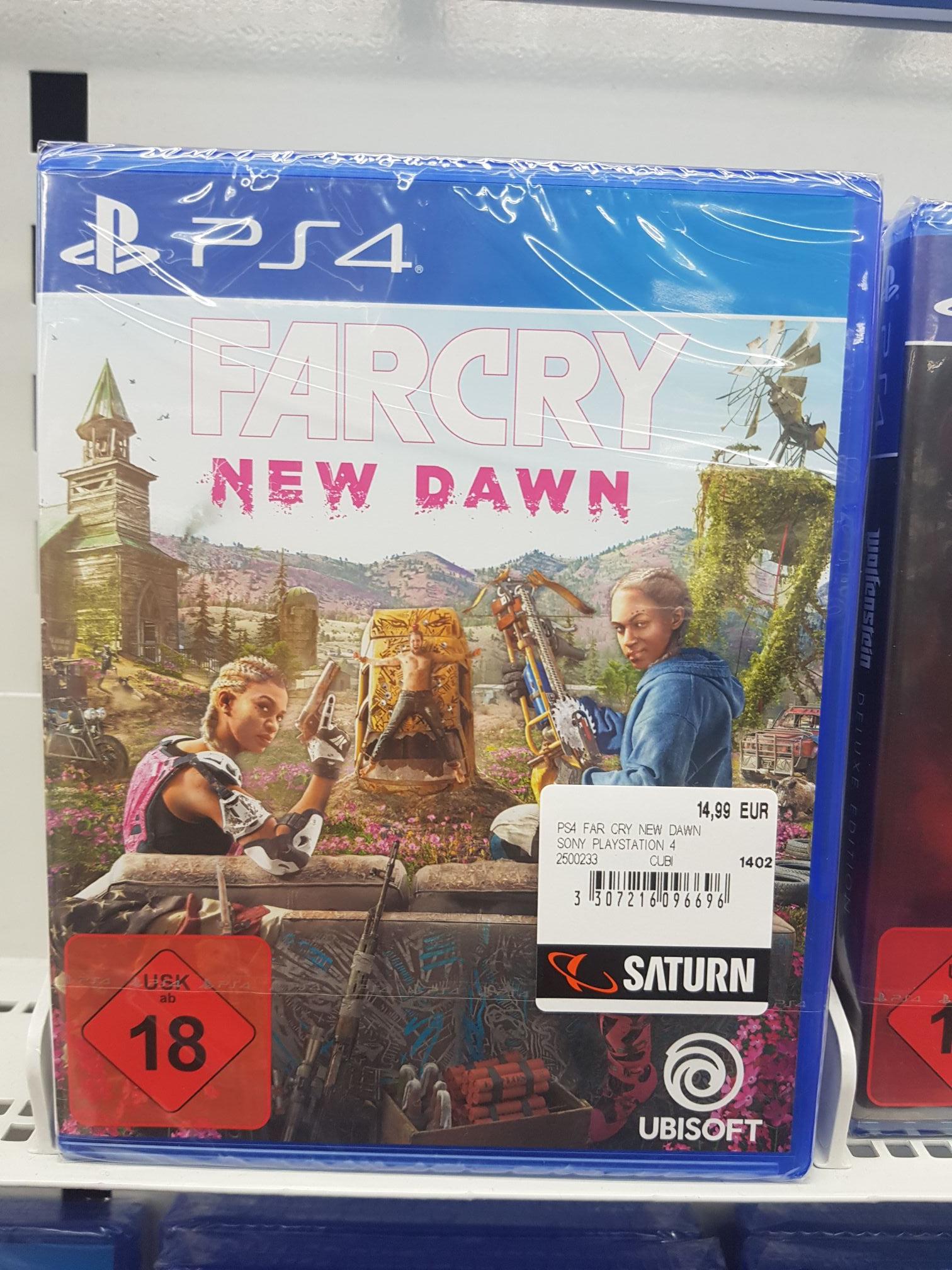 [Lokal / Saturn Solingen] Far Cry New Dawn - Playstation 4