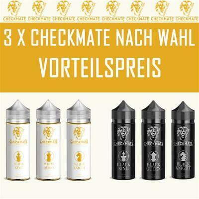 [E-Zigaretten] Dampflion Checkmate Serie - 3 x Aromen (freie Auswahl)