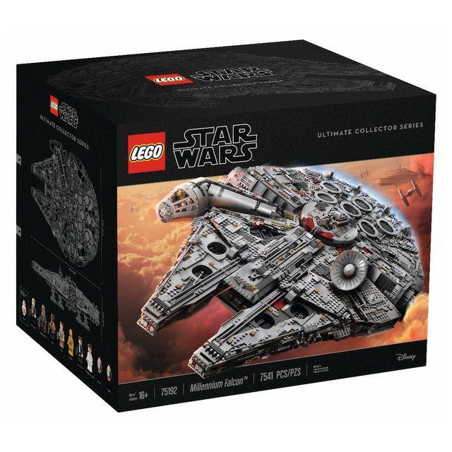 LEGO 75192 Star Wars Millenium Falcon Ultimate Collector Series [elcorteingles.es]