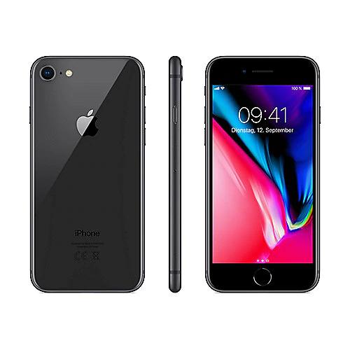 Blau Allnet XL (5GB LTE) für mtl. 26,99€ + iPhone 8 für 5,99€ Zuzahlung (eff. 7,66€ / Monat nach Hardwareverkauf)