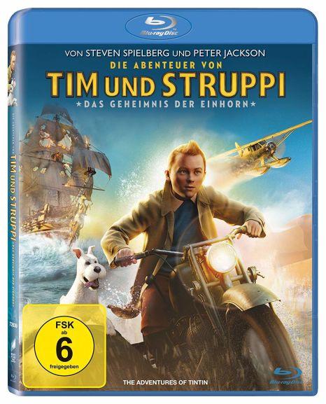 Die Abenteuer von Tim und Struppi - Das Geheimnis der Einhorn (Blu-ray) für 4,10€ (Dodax)