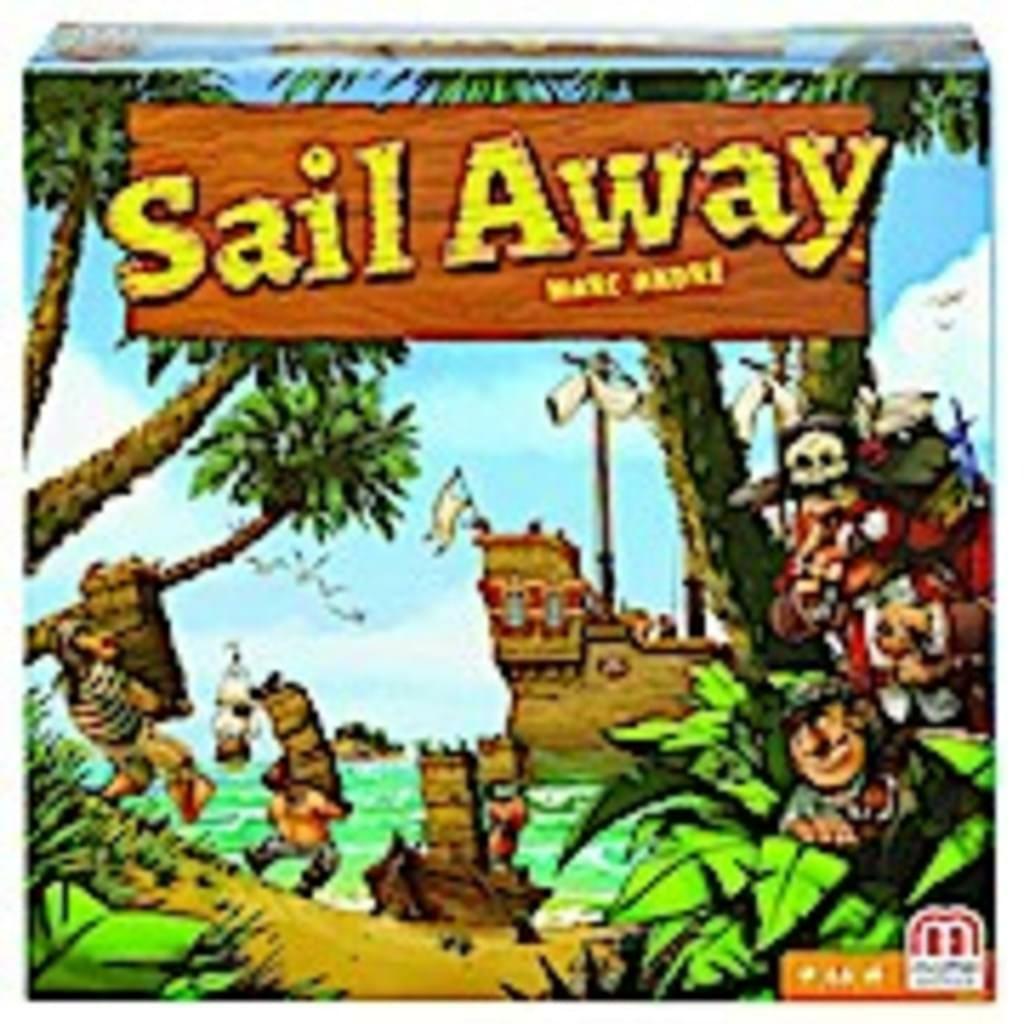 """Strategie-Spiel """"Sail away"""" von Mattel DNM660"""