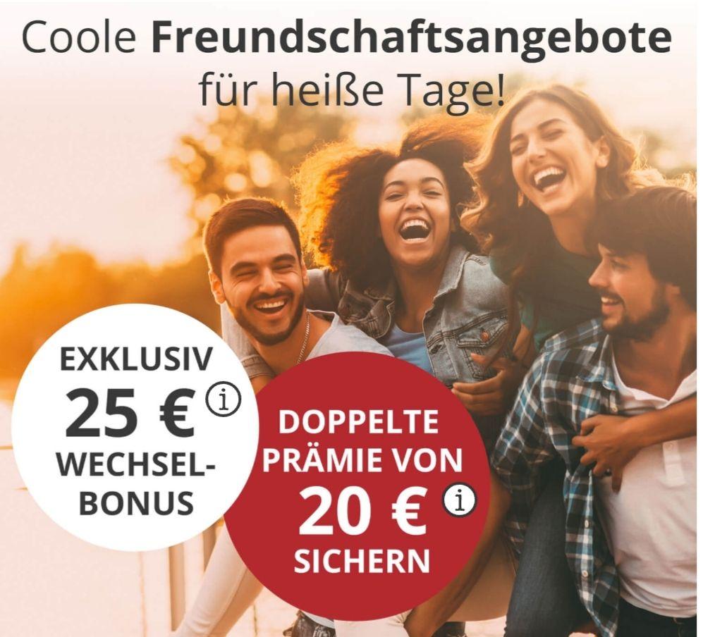 PremiumSIM - 20€ Werbebonus für Werber und 25€ Wechselbonus für den Geworbenen statt 10€