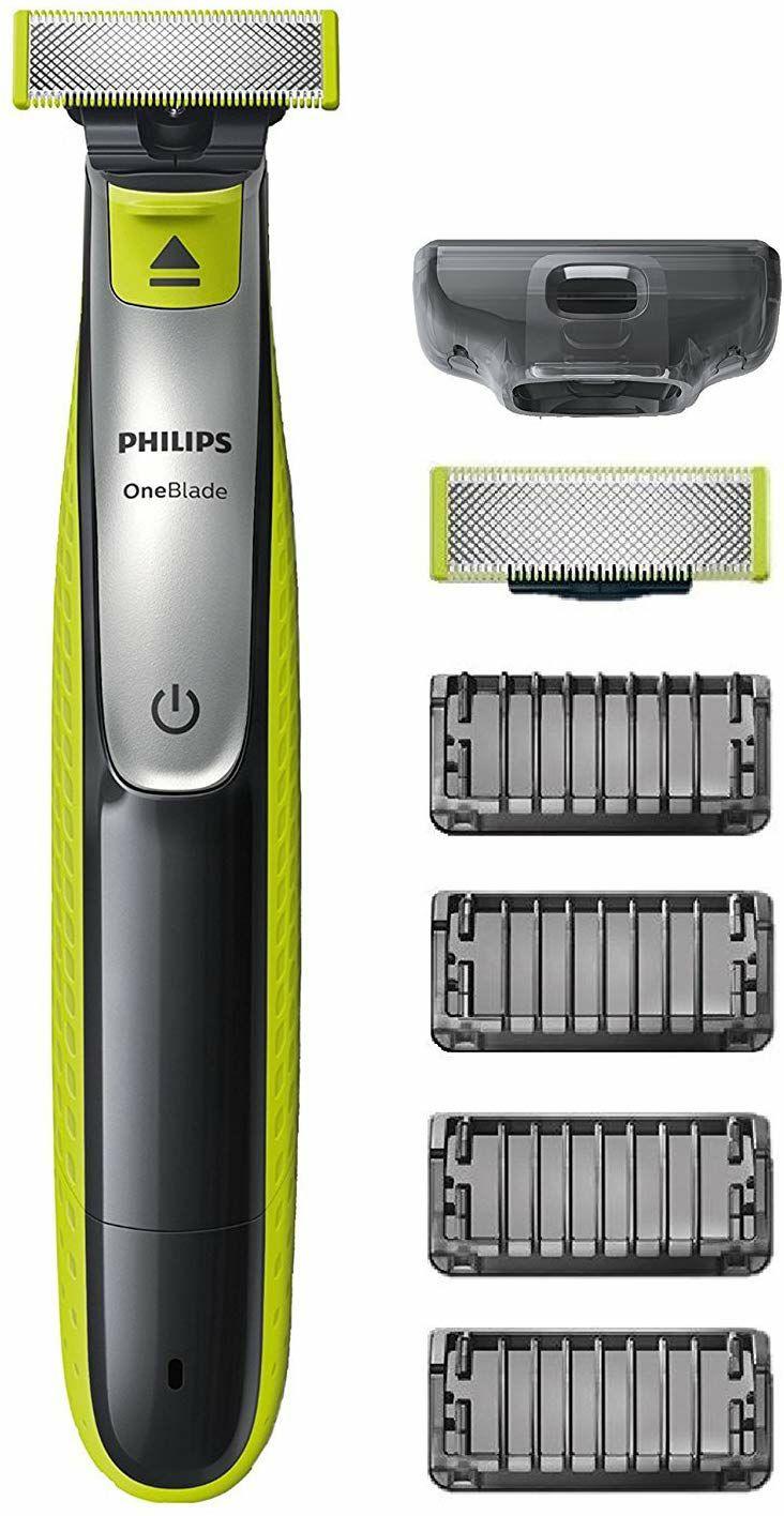 Philips OneBlade Face QP2530/30 mit 2 Klingen + 4 Trimmaufsätze (Amazon.fr)