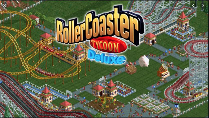 RollerCoaster Tycoon: Deluxe (Steam) für 1,63 bei Gamersgate