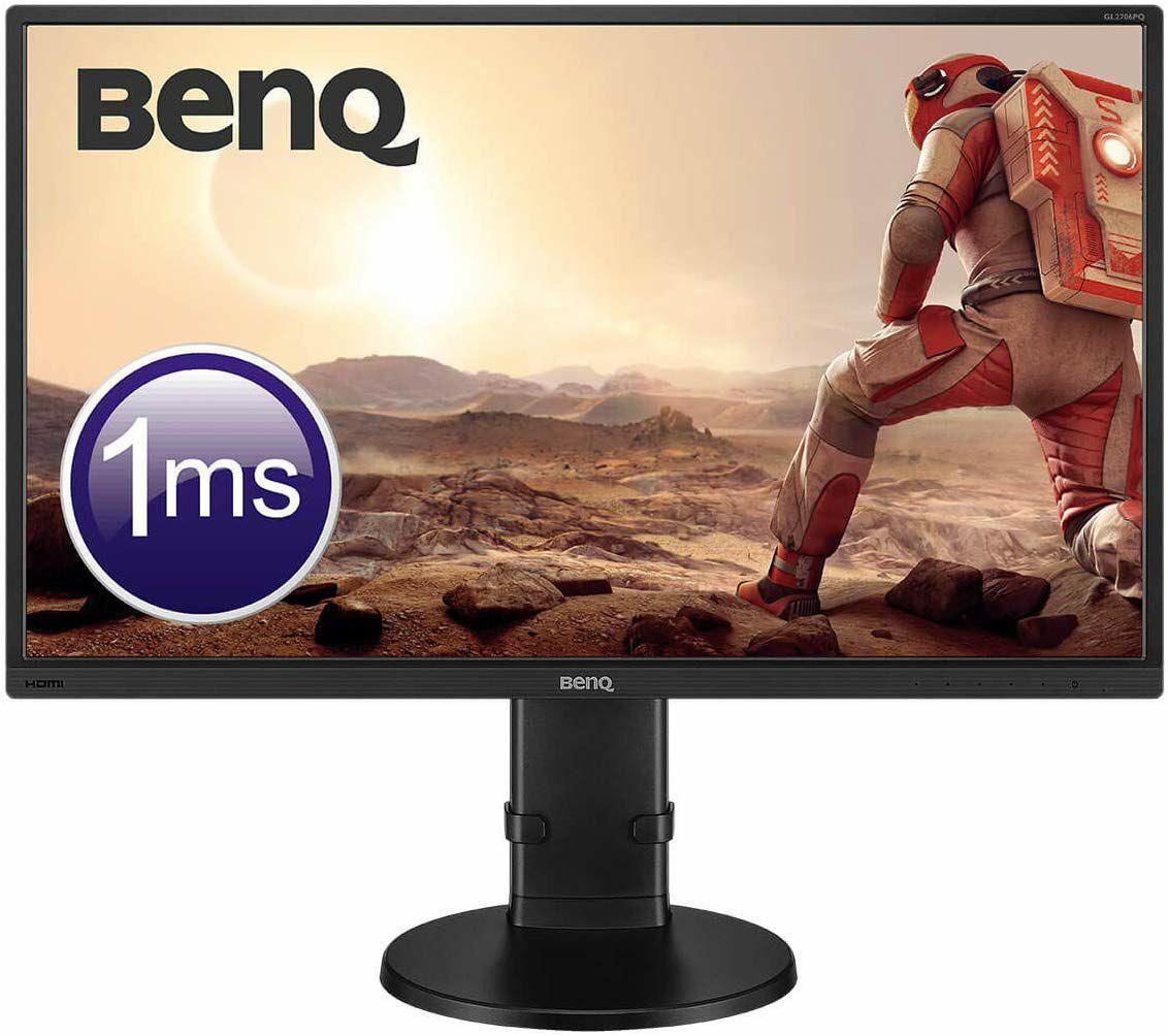"BenQ GL2706PQ WQHD LED Gaming-Monitor, 27"", 2560 x 1440, TN, 350 cd/m², 1000:1, 1 ms, HDMI, DVI, DisplayPort, Lautsprecher, Schwarz"