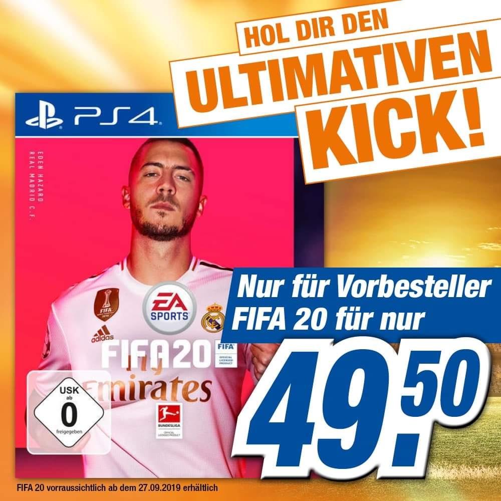Lokal Expert Freital & Pirna FIFA 20 PS4 Vorbesteller Aktion