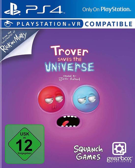 Trover Saves The Universe (PS4-VR) für 15,99€ (GameStop & Müller)
