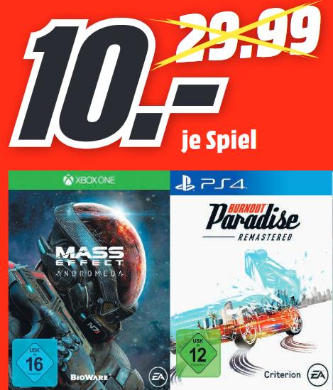 [lokal: MM Backnang, Bad Cannstadt, Fellbach, Schorndorf, Waiblingen] Burnout: Paradise Remastered (PS4)