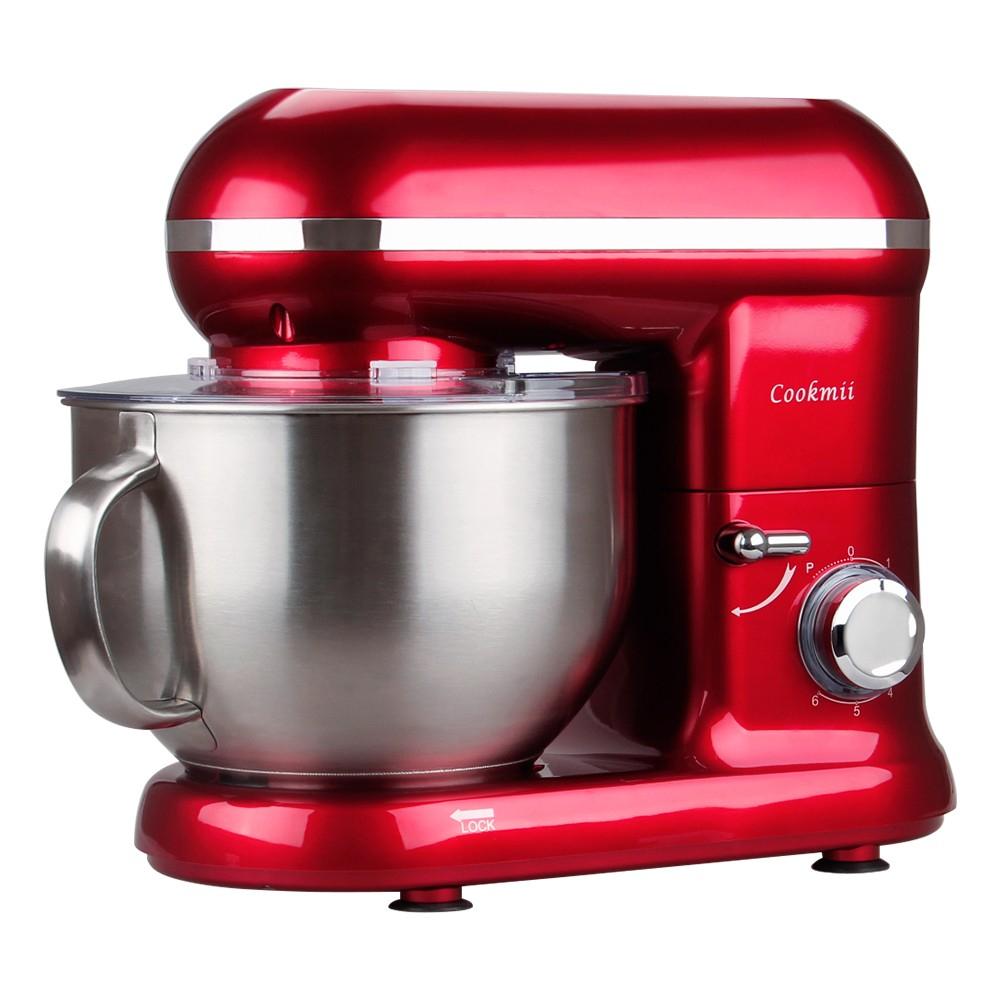 Cookmii  Küchenmaschine (1090 Watt, 5,5 Liter-Rührschüssel)