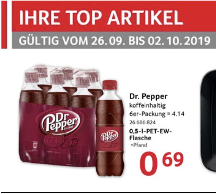 Selgros (Neu-Isenburg) ab Donnerstag: Dr. Pepper 0,5L (0.69€ / 0.82€ Brutto/Netto)