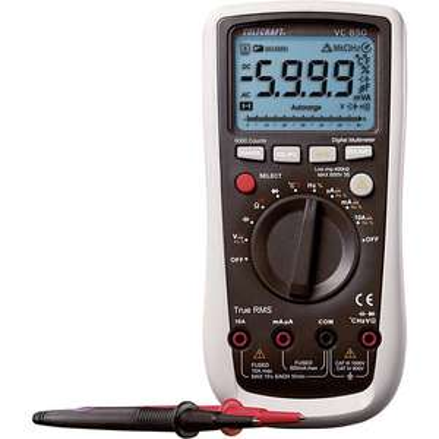 [Conrad/eBay] VOLTCRAFT VC850 Multimeter digital CAT III 1000V, CAT IV 600V 6000 Counts True RMS