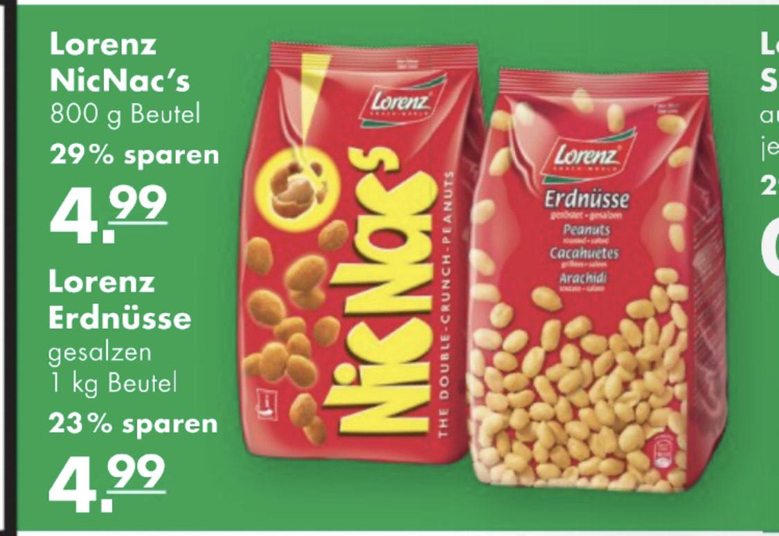 [Handelshof] Nic Nac's 800g Beutel oder 1 Kilo Erdnüsse gesalzen für 5.33€ ab Donnerstag, 26.09.2019