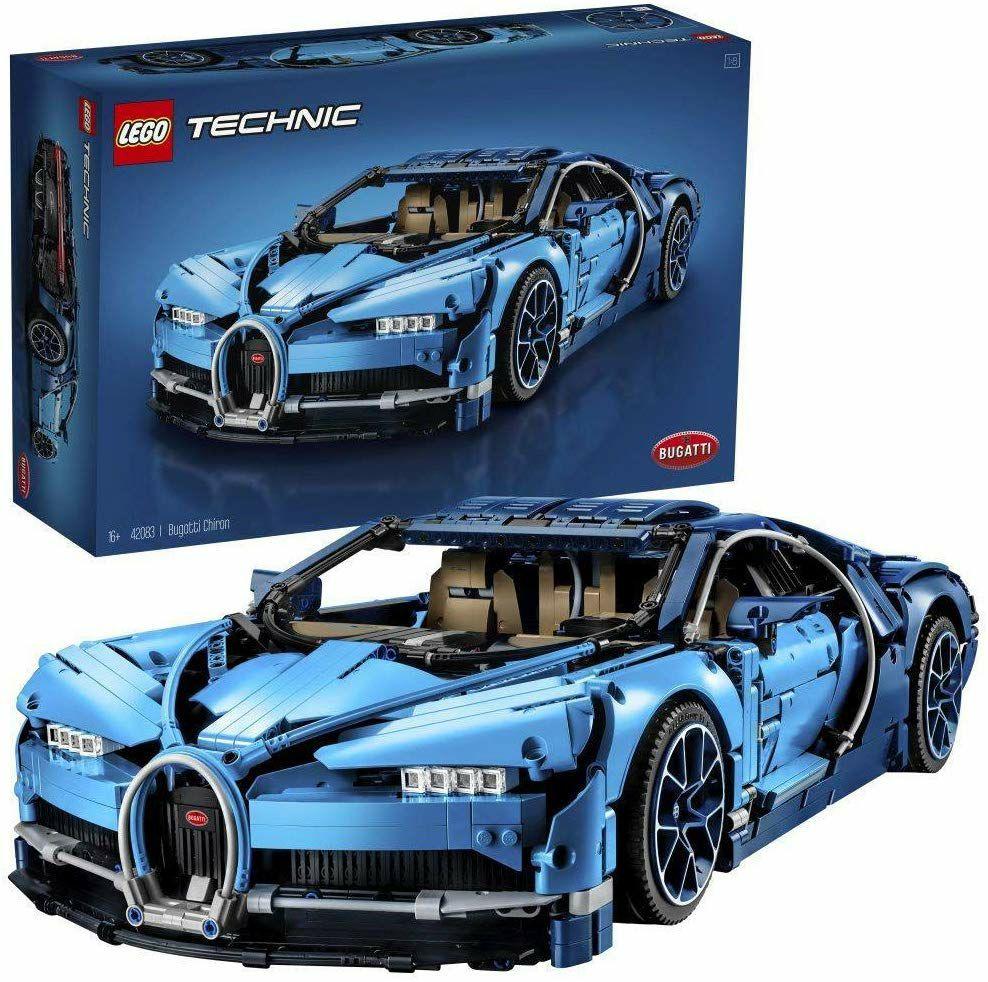 LEGO 42083 Technic Bugatti Chiron, Konstruktionsspielzeug, Maßstab 1:8