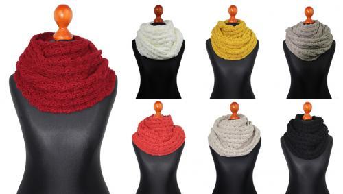 richtig schöner Schal mit 30% Wolle-Anteil