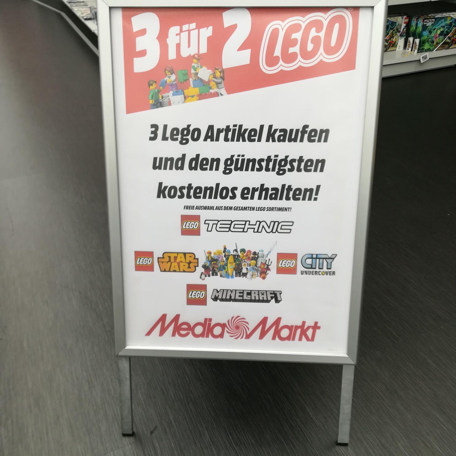 3 für 2 Lego Media Markt(ECE) Schweinfurt