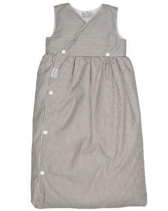 Tavolinchen Daunenschlafsack braun/weiß Größe 60cm Baby Schlafsack