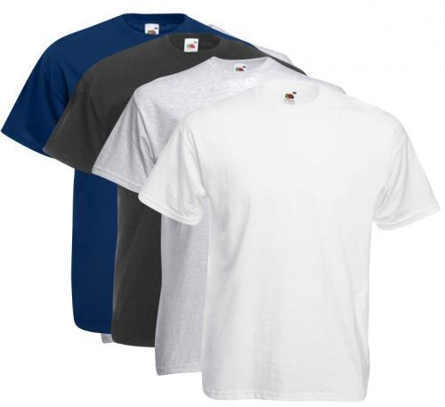 Fruit of the Loom T-Shirt Set farbig 10 tlg. für 20€ inkl. Versand wieder verfügbar (+4-15% Cashback bei qipu)