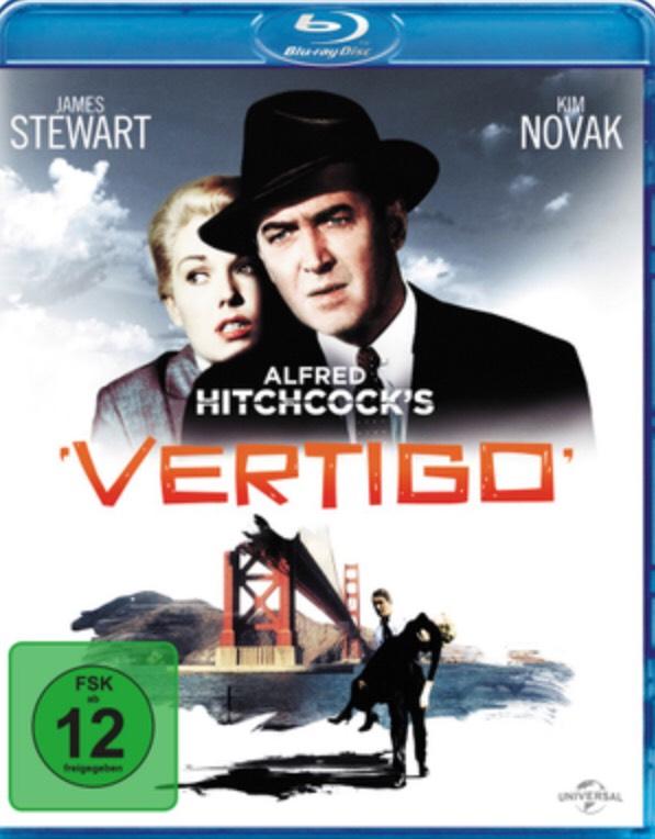 [dodax.de/dodax-ebay] Vertigo, Blu-ray, Alfred Hitchcock