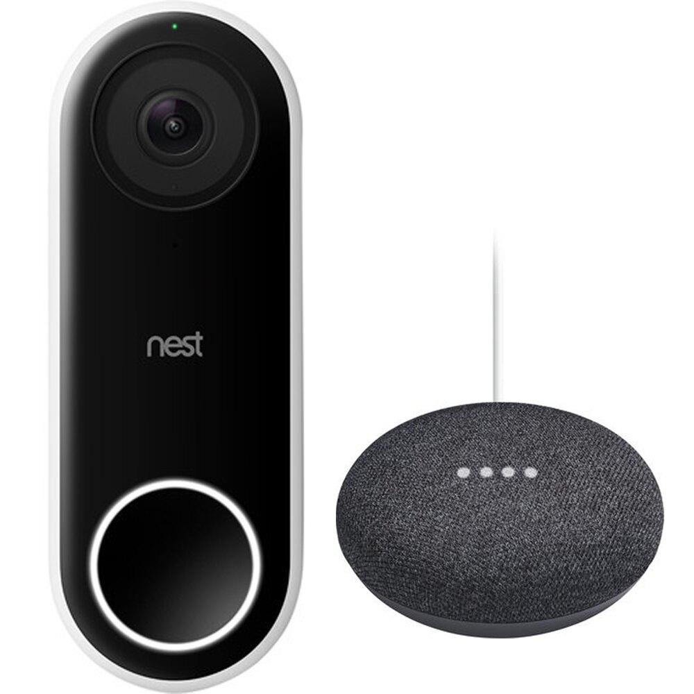 Google Nest Hello + Google Home Mini für 204,99€ inkl. Versand (Bol.com)