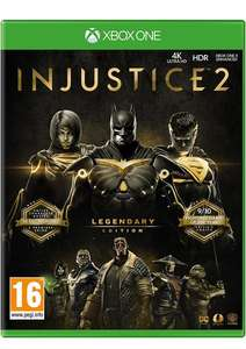 Injustice 2 Legendary Edition (Xbox One & PS4) für je 18,16€ (SimplyGames & Base.com)