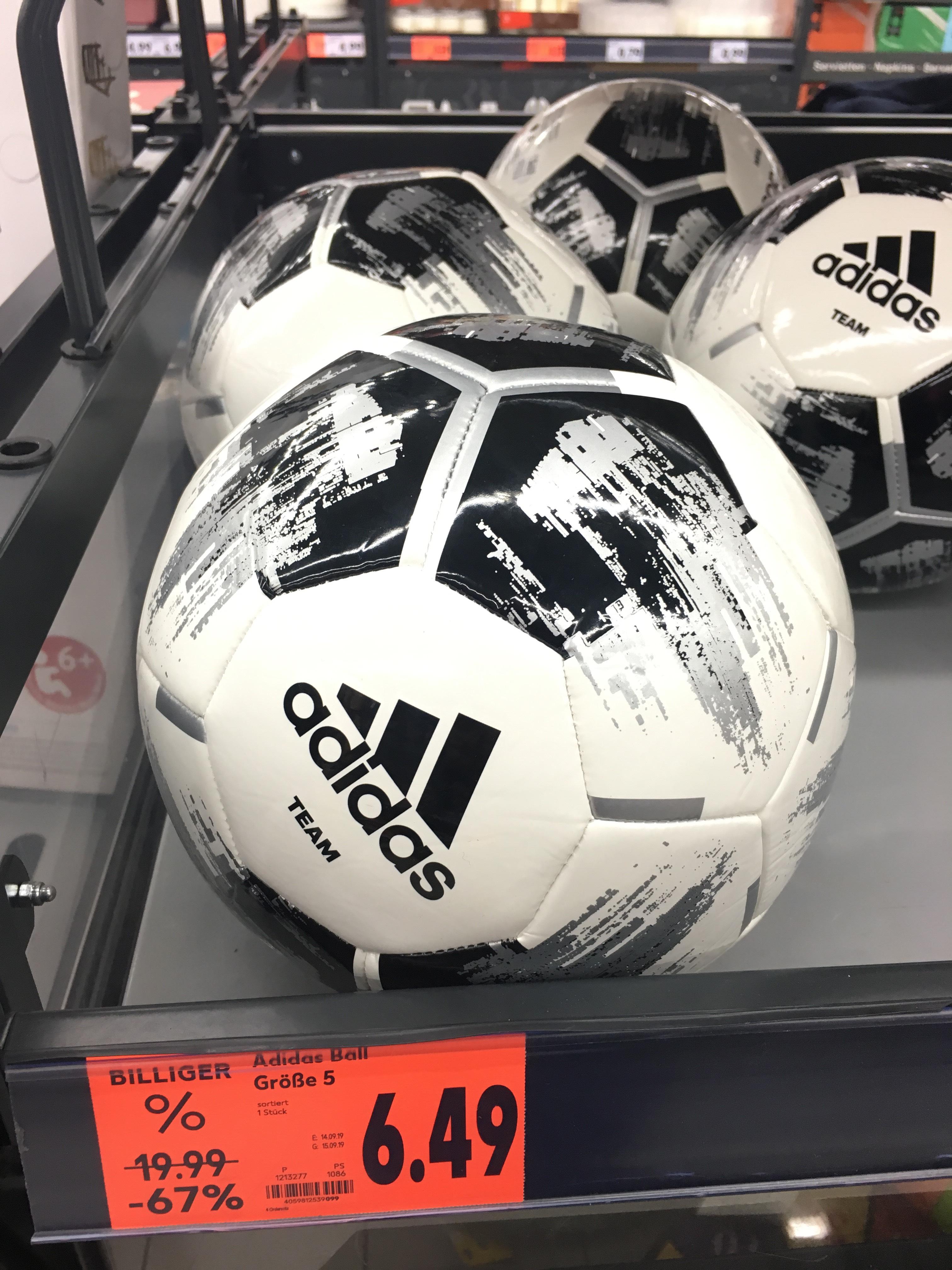 Adidas Ball Größe 5 - Kaufland [Lokal Magdeburg]