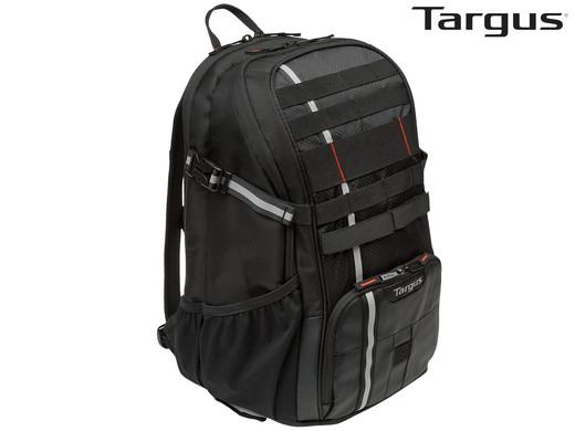 "Targus Work & Play Cycling Notebook-Rucksack ""TSB949EU"" (15,6'', 49 x 30 x 24 cm, Mit Rückenbelüftung und Regenhülle) [iBOOD]"