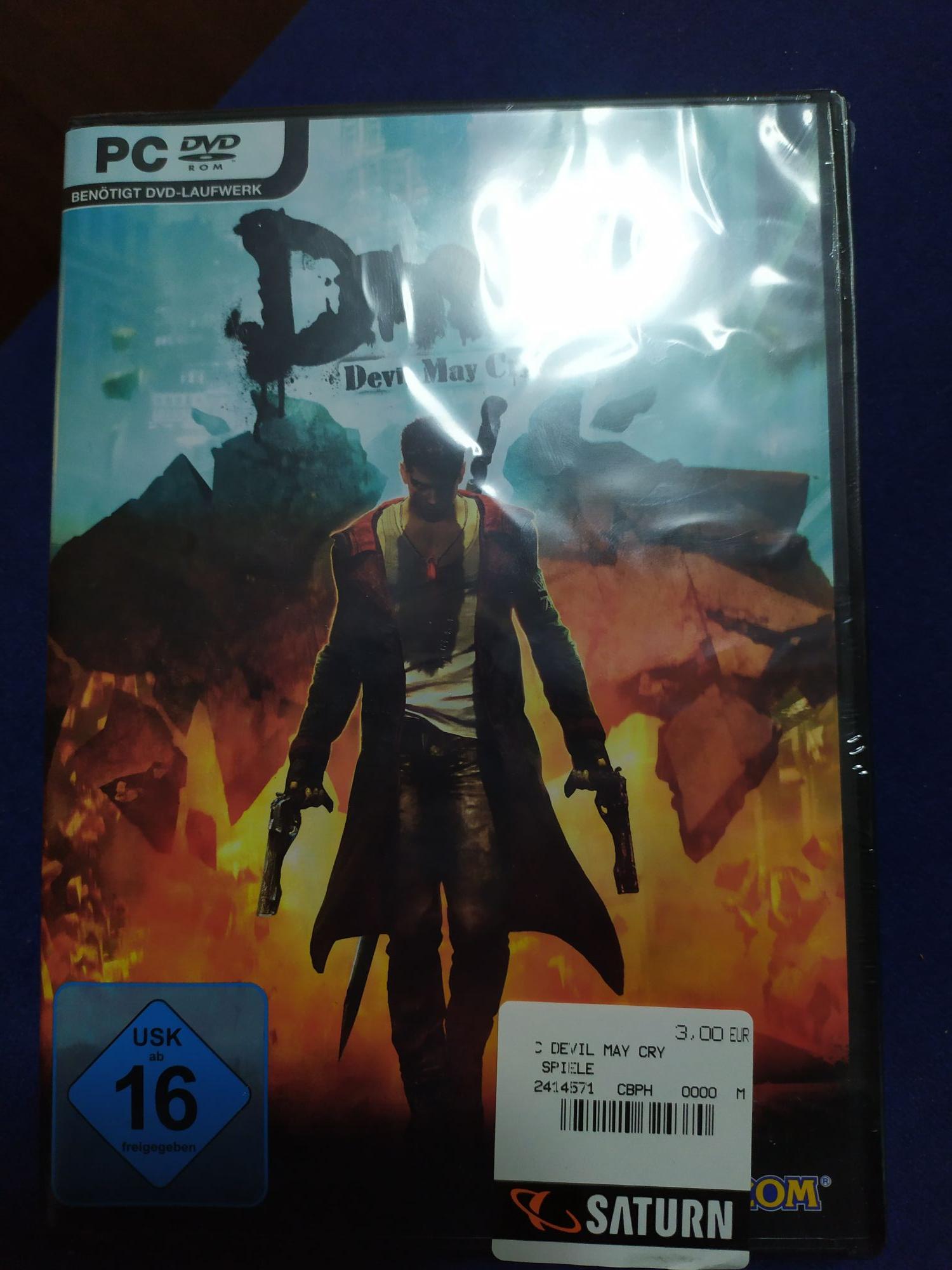 Devil May Cry für PC (regional Saturn München)