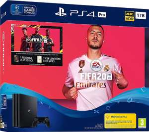 Sony PlayStation 4 (PS4) Pro 1TB + FIFA 20 Ultimate Team - real Family & Friends (ohne F&F 329€)