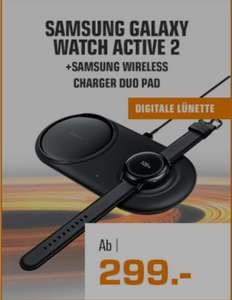 Samsung Galaxy Watch Active 2 + WIRELESS CHARGER DUO PAD