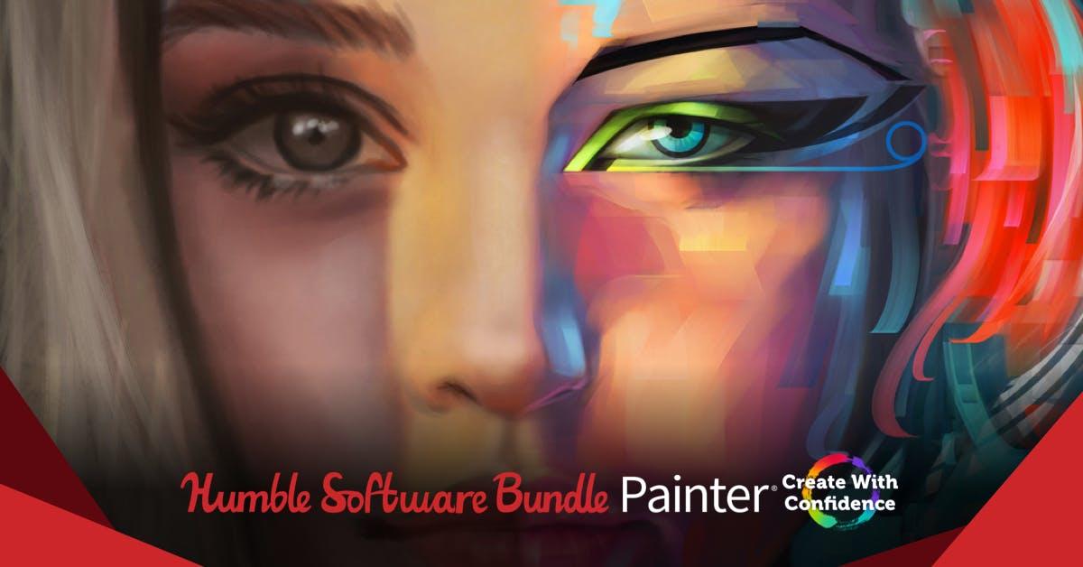 The Humble Software Bundle - u.a. mit Corel Painter® 2019 / PaintShop Pro Ultimate 2020 / Gravit Designer PRO