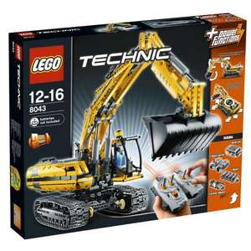 LEGO Technic 8043 - Motorisierter Raupenbagger für günstige 139€ @amazon bzw. 139,99€ bei @mytoys