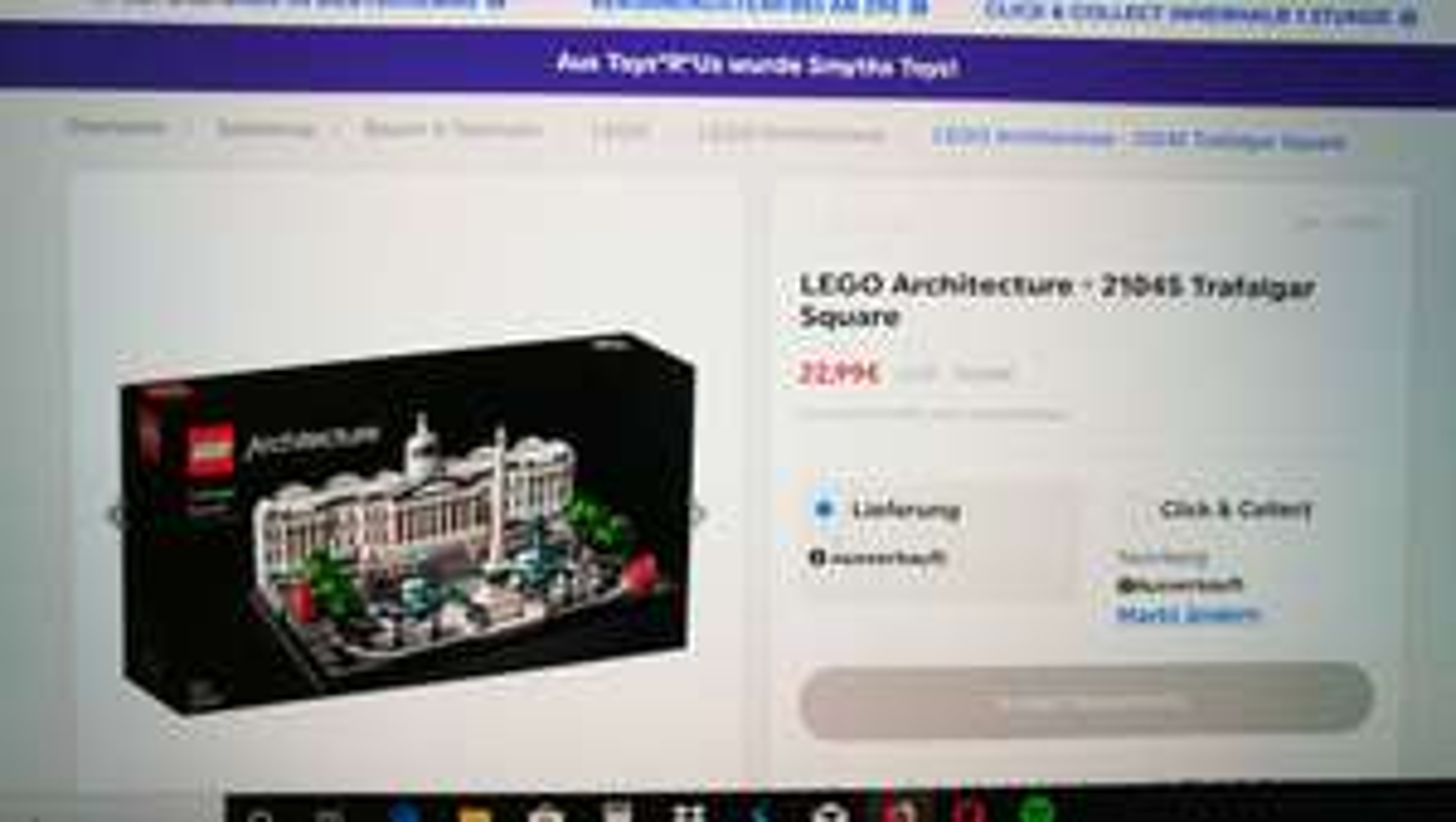 Lego 21045  Architektur Trafalgar Square