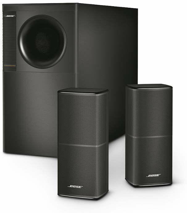 Bose Acoustimass 5 Serie V Lautsprechersystem (2.1 Kanal, Schwarz)