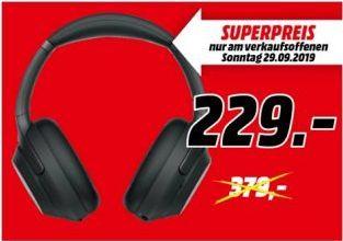 [Regional Mediamarkt Braunschweig-Nur am 29-09] Sony WH-1000XM3 Over Ear Bluetooth-Kopfhörer Noise Cancelling schwarz für 229,-€
